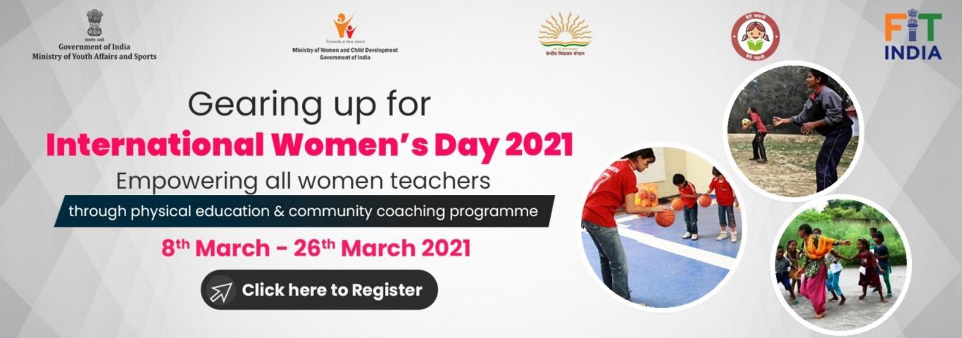 FIT INDIA MOVEMENT : EMPOWERING WOMEN PE TEACHERS